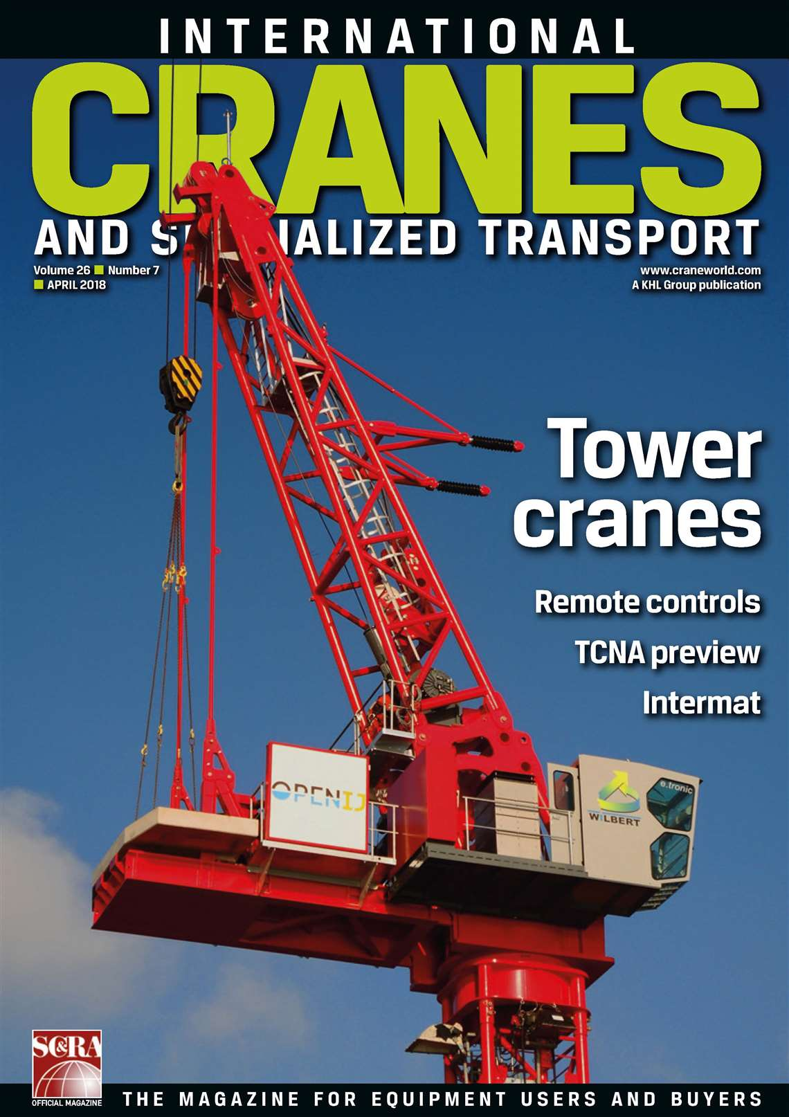 International Cranes and Specialized Transport - April 2018